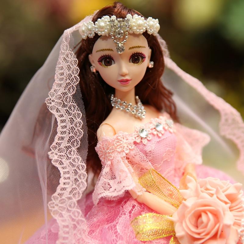 Poupée de mariage musique princesse jouets pour filles bébé poupées jouets pour enfants Reborn poupée envoyer aux filles les meilleurs cadeaux de noël - 5