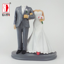 Wedding Cake Topper Personalized Custom real doll custom clay dolls fixed resin body SR151 creative gifts