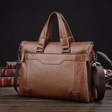 Портфель мужской из натуральной кожи роскошная сумка для ноутбука