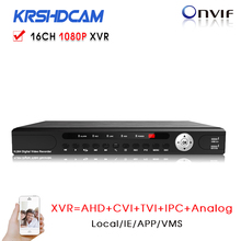 16 Channel 1080P Hybrid XVR for AHD CVI TVI DVR AHD H 960H D1 P2P IP