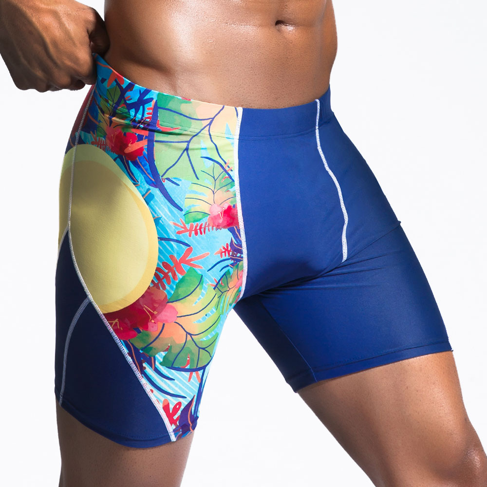 Swimwears Trunks Bathing-Swimsuits Beachwear Surfing-Board-Shorts Boxer Swimming Men
