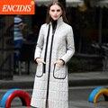 Woolen Cloth Women's Winter Jacket 2016 New Fashion Down Coat Women A Style  Coat Female Winter Coats Women Long  Parka Y063