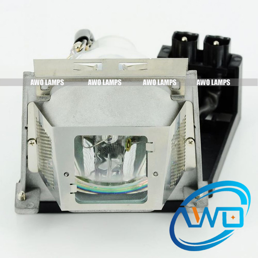 AWO Replacement Lamp SP-LAMP-034 Projector Bulb with housing for INFOCUS C350/IN38/IN39 sp lamp 034 replacement projector lamp with housing for infocus in38 in39