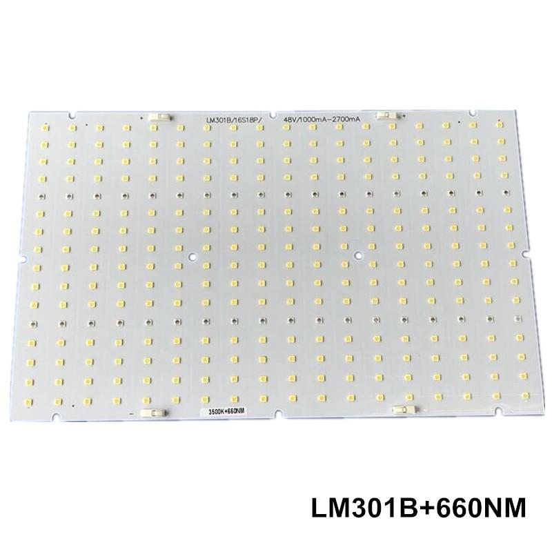 Samsung led 288pcs PCBA quantum board QB288 V2 PCB with LM301B 660nm V1 LM561C S6 3000K