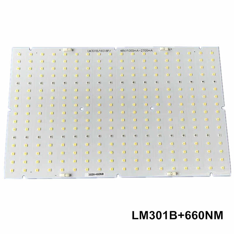 Samsung led 288pcs PCBA quantum board, QB288 V2 PCB with LM301B+660nm/V1 LM561C S6 3000K diy led plant grow light