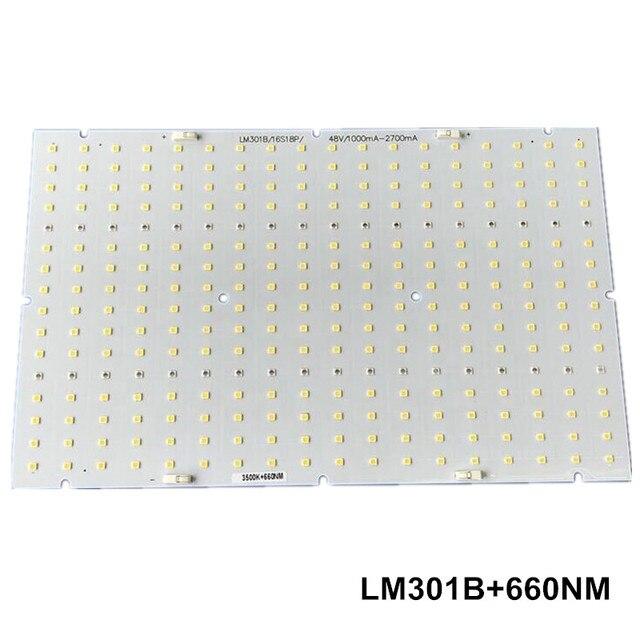 US $38 25 10% OFF|Samsung led 288pcs PCBA quantum board, QB288  (286x174x1 6mm) PCB with LM301B+660nm/LM561C S6 3000K diy led plant grow  light-in LED