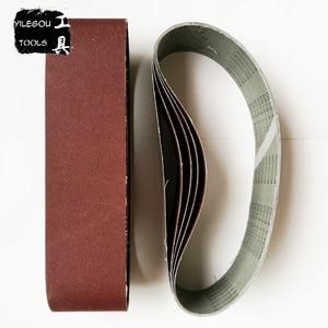 """Image 2 - Bande Abrasive pour bois, 100x915mm, 5 pièces, écran de ponçage 4 """"x 36"""" 100*915 avec ceinture 60 80 100 120 240 600"""