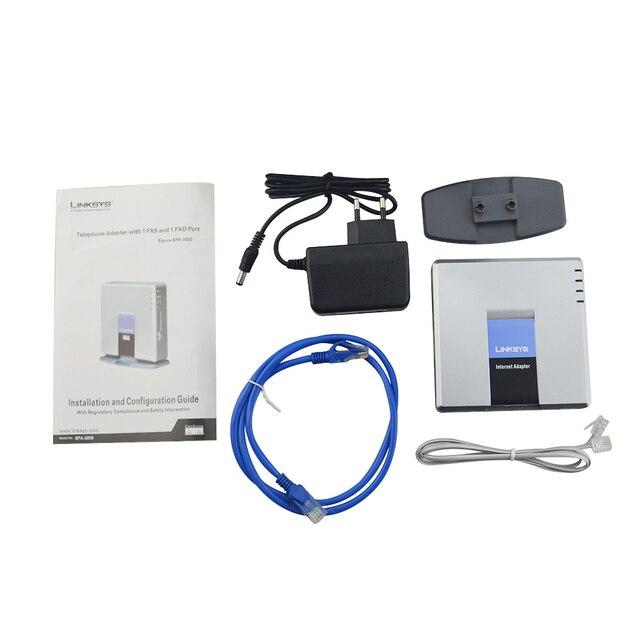 Мировое использование! VOIP голосовой шлюз voip-маршрутизатор SPA3000 разблокированный Linksys Тип SPA3000 VOIP FXS телефонный адаптер абсолютно новый стаби...