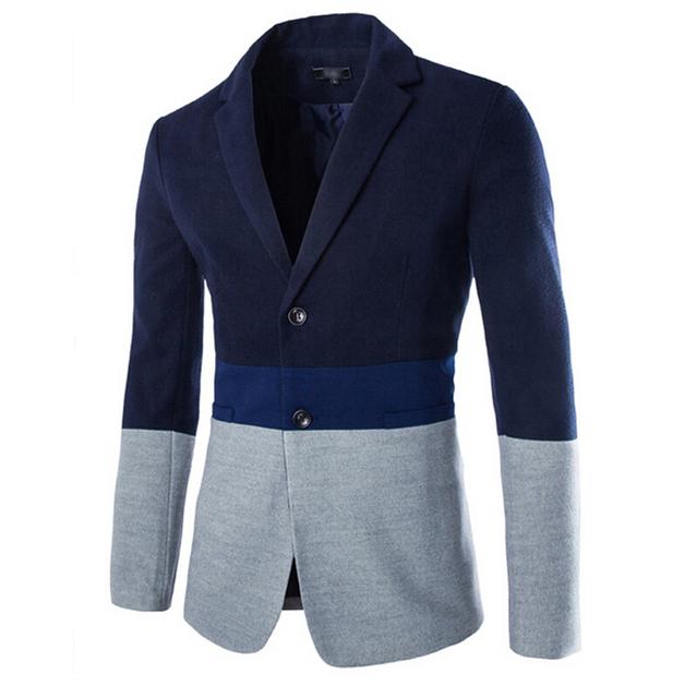 Nuevas Llegadas De Los Hombres de Moda de Alta Calidad de Algodón Puro de Los Hombres Traje Chaqueta Larga Para Hombre Chaquetas Hombres Chaqueta de La Chaqueta Mens Blazer Jacket