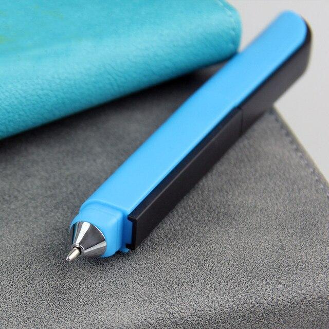 Creative Multifunctional Ballpoint Pen Folding Scissors Ruler Knife Ball Point Pen Canetas Students School Supplies Stylo Rigolo 3