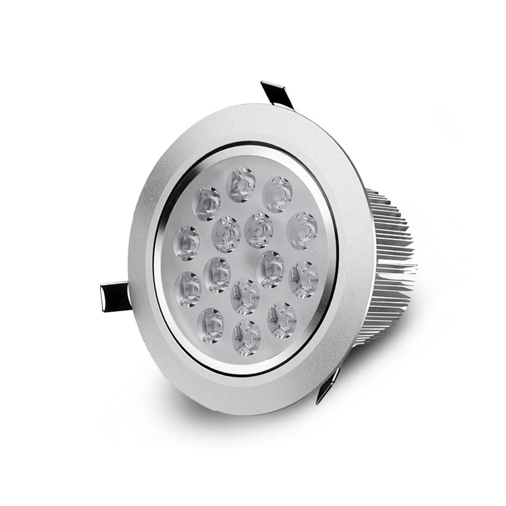 Led Light 3w 5w 7w 9w 12w 15w 18w Round Recessed Lamp Led