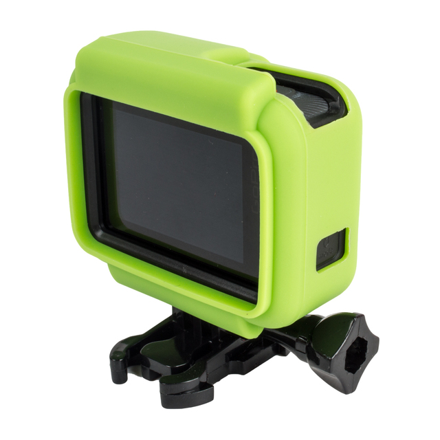 SHOOT Colorful-Protective Black Sports Cam Mount Case For GoPro Hero 7 6 5