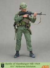 ACE 1/6 US 101 Airborne Division Battle of Hamburg Hill 1969 Soldier Model Dolls 12″  Action Figure Collectible Doll Toys