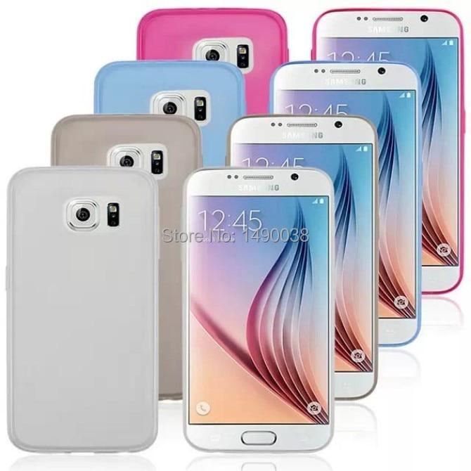 Новое Прибытие Ультратонких Мягкий Прозрачный Красочный Чехол Для Samsung Galaxy S6 G9200 Сотовый Телефон Случае Бесплатно