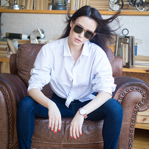 Image 3 - בובו ציפור מקוטב עץ משקפי שמש נשים גברים משקפיים שמש שחור אגוז עץ בציר UV400 Eyewear במבוק משקפיים ב אריזת מתנה