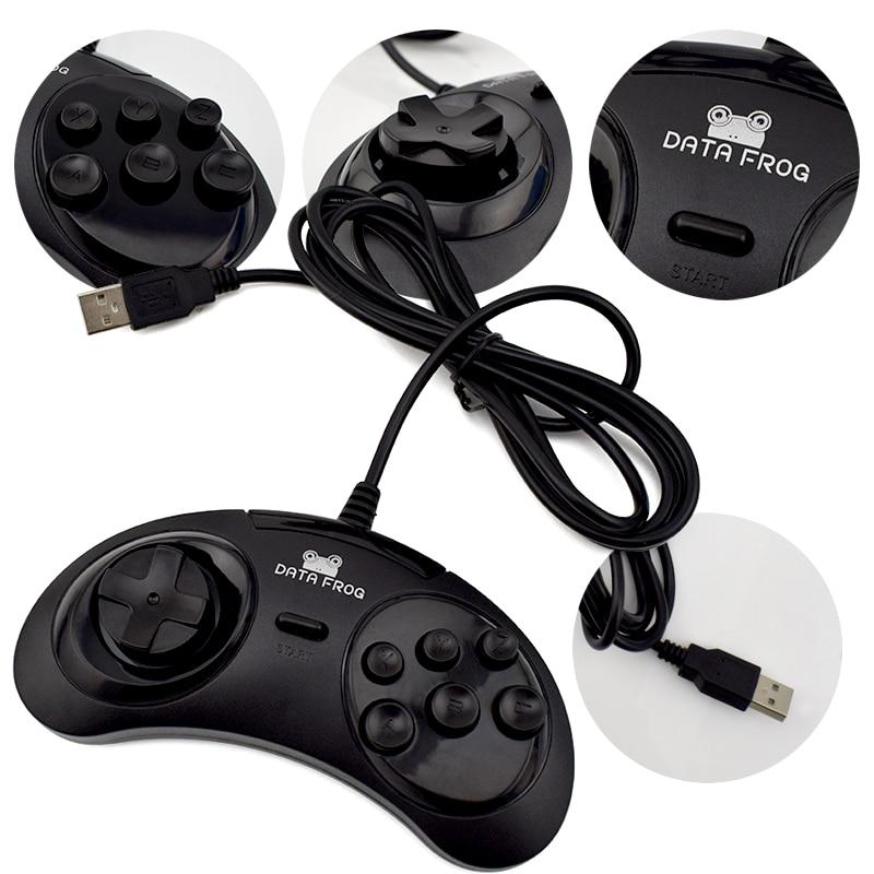 Data Frog Κλασσικό Gamepad USB 6 κουμπιά - Παιχνίδια και αξεσουάρ - Φωτογραφία 5