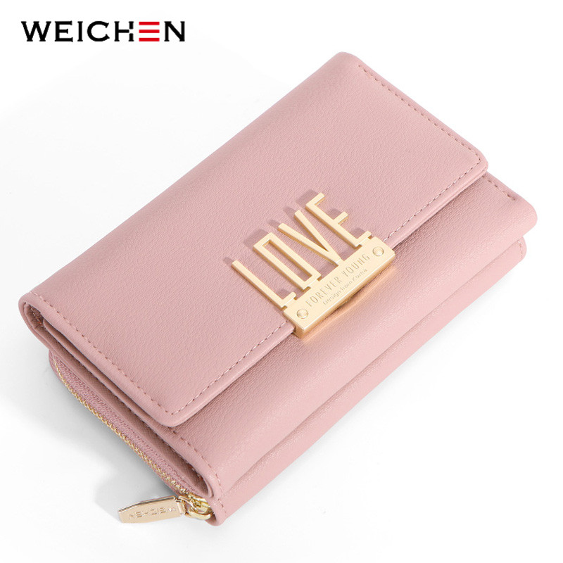 WEICHEN Clutch Wallet Cell-Phone Large-Capacity Pocket-Card-Holder Purse Ladies Zipper