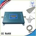 Display LCD 4g lte repetidor Reforço De Sinal 2600 MHz Repetidor GSM 4G 800 MHz 70dB 700 MHz Móvel Kit Amplificador de Sinal de telefone Completo