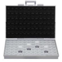 AideTek SMT rezystor smd schowek obudowa 1206 0805 72 przedziały elektronika pudełka do przechowywania i organizery plastikowe BOXALL72 tanie tanio Z tworzywa sztucznego 24*15*5