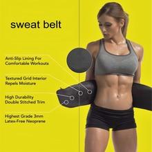 New Adjustable Waist Trimmer Exercise Sweat Belt