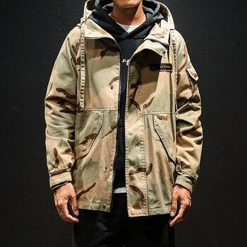 Veste Militaire Camouflage Hip-Hop