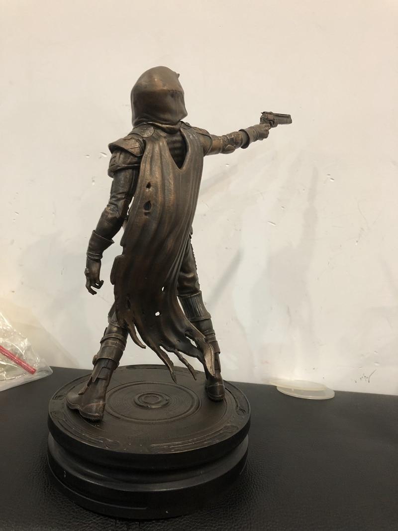 Kit de garaje Original 21cm destino 2 Cayde 6 de pistolero con pistola de cobre figura de acción modelo coleccionable juguetes sueltos regalos - 2
