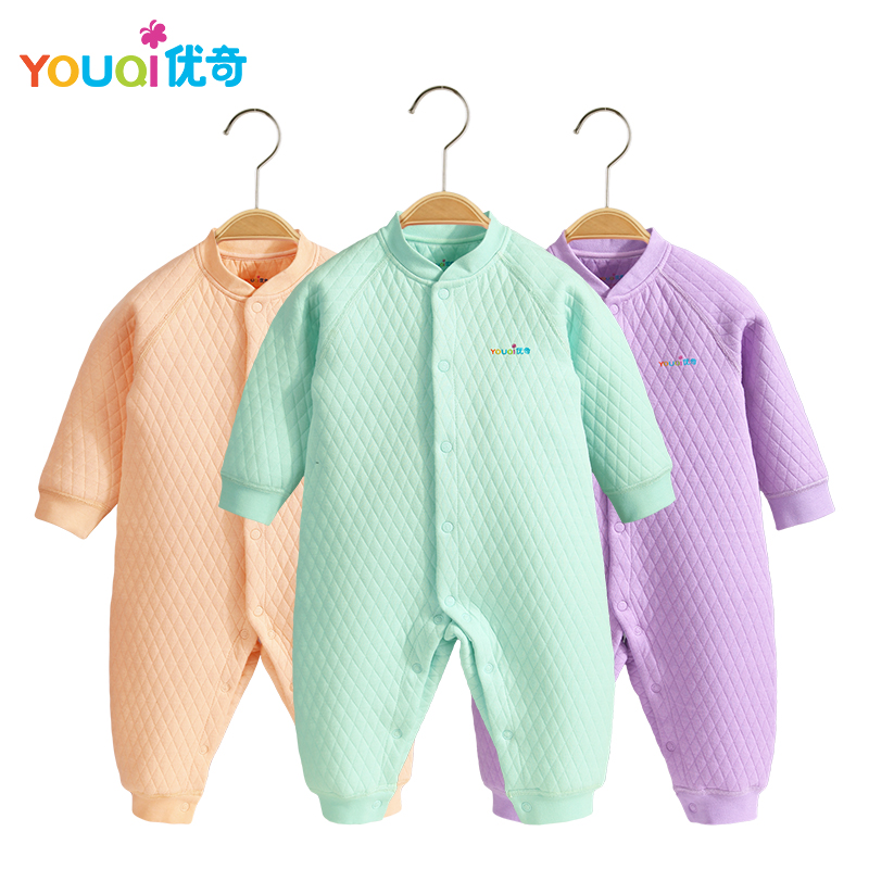 YOUQI Winter Unisex Baby Clothes Warm Boys Rompers 3 6 9 18 Months Toddler Girls Infant