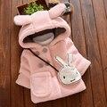 Bebê Meninas Dos Desenhos Animados Crianças Casacos de Outono Casacos de Moda Bebê de Manga Comprida Outerwear Roupa Dos Miúdos