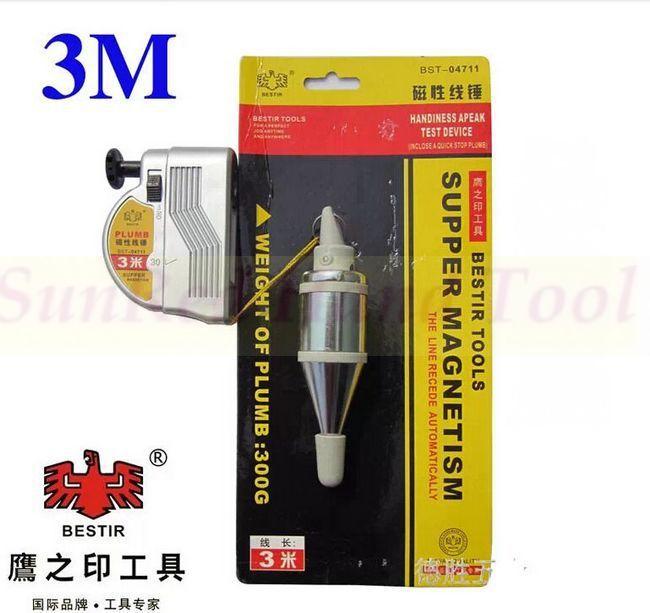 Plichtmatig Opwekken Taiwan Bouw En Productie Gereedschap Apeak Line Magnetische Schietlood Leveling Test Apparaat 3 Meters No.1 04711 Bekwame Vervaardiging