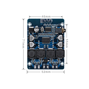 Image 4 - TPA3118 Bluetooth Digital Amplifier Board 45W*2 2.0 channel Stereo Audio Amplification Module AUX Decoder Home Audio