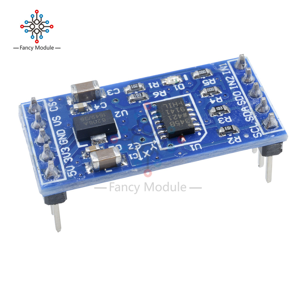 Accelerometers 3-Axis Low g Digital-Output 5 pieces
