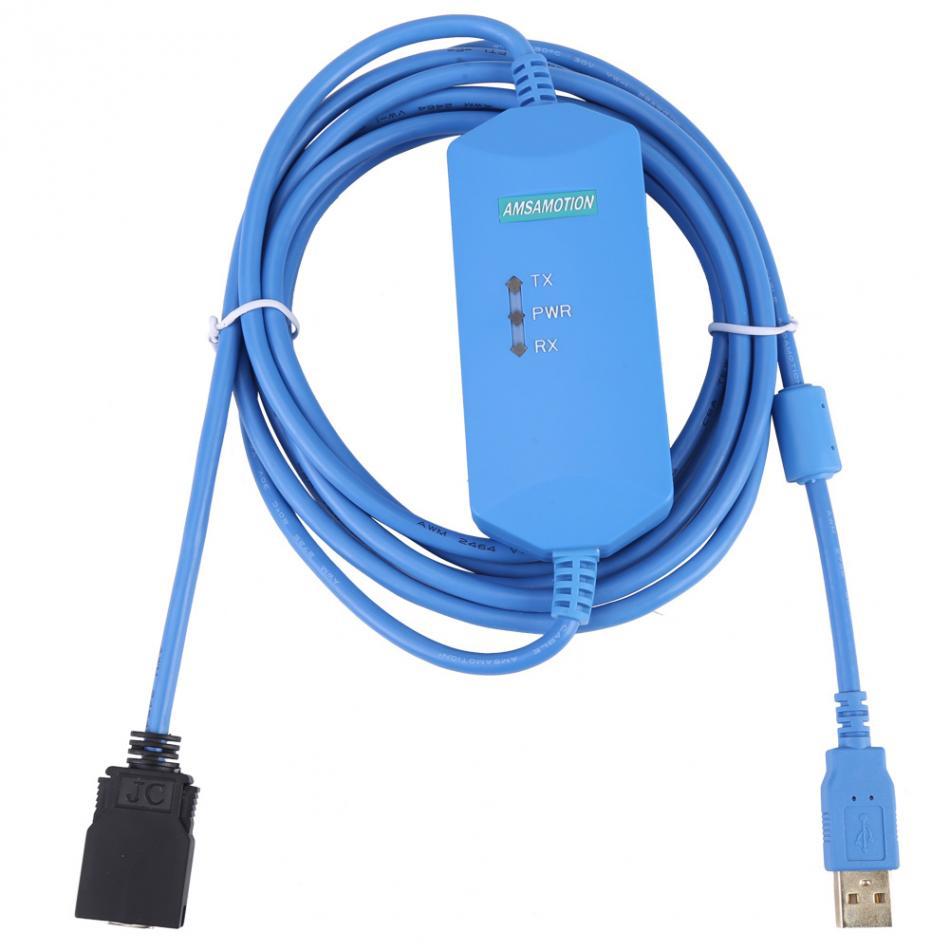 1pc 3meter PLC Programming Cable for Omron CS/CJ/CQM1H/CPM2C/CQM2C PLC. dhl ems 1pc new omron plc c200hw bi031 xtxr a2