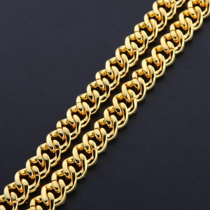 Image 5 - THE BLING KING 9mm Micro Pave Iced CZ Cuban Link Necklaces Chains Gold Color Luxury Bling Bling Jewelry Fashion Hiphop For Men