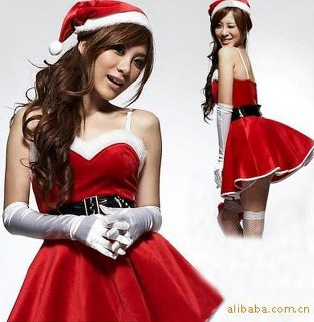 Sexy Santa Costumes For Women Christmas Costumes Cosplay Fancy Dress Lingerie For Sex Cheerleader Uniforms Temptation