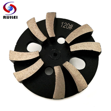 RIJILEI 3PCS/Set 4inch Diamond Grinding disk for Concrete floor Shoes Stone grinding plate ZJ02