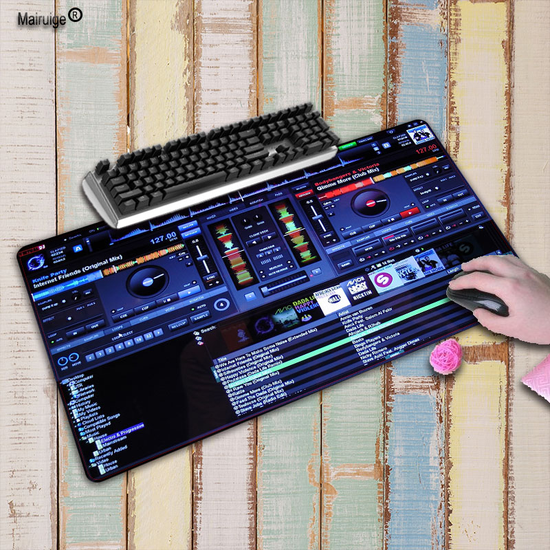Mairuige 900*400*3mm DJ hand drive Speed Notbook Computer Large Locking Edge Thi