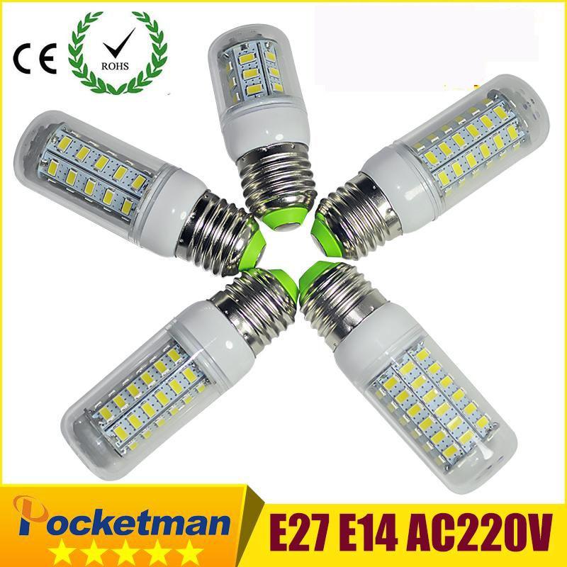 Ultra bright 5730 SMD led lamp 3W 4W 5W 6W 7W E27 LED Bulb 24LED 36LED 48LED 56LED 69LED SMD5730 Lamp light 220V/110V