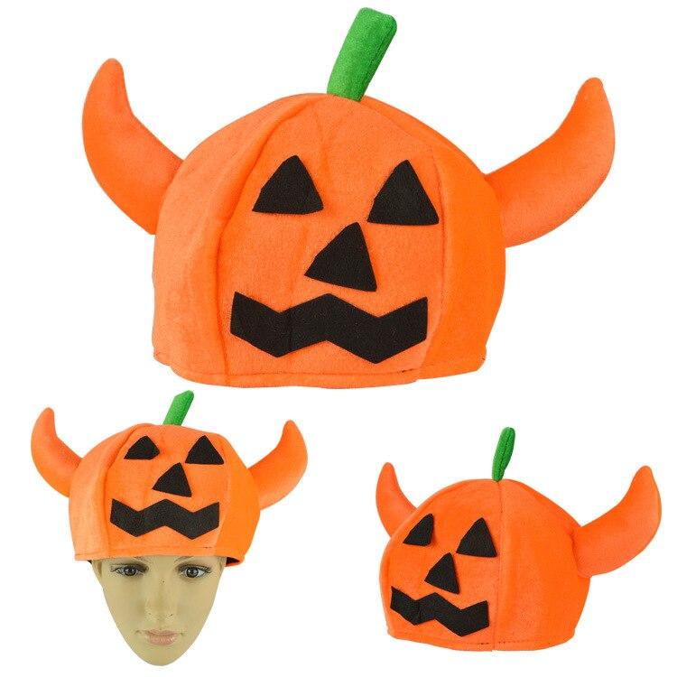 Calabaza de halloween Sombrero Gorros Sombreros Animales Sombrero Del  Partido de Halloween Calabaza de Halloween Sombrero Del Partido  Decoraciones en de en ... 510b6b9d11b