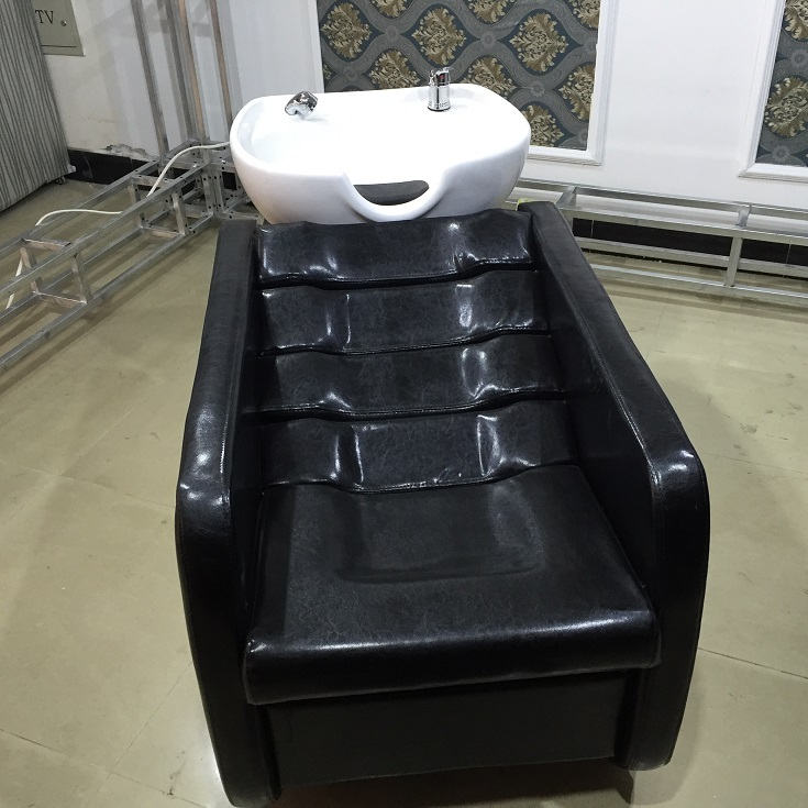 Hair Shampoo Bed Ceramic Basin Water Bed