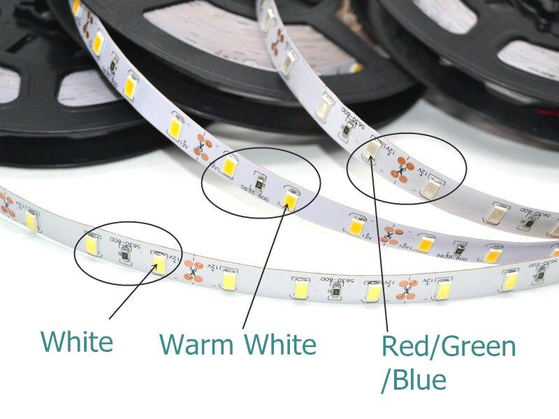 5630 LED Strip 12V Fərqli Dekorasiya İşıqlandırma 300LED Su - LED işıqlandırma - Fotoqrafiya 3