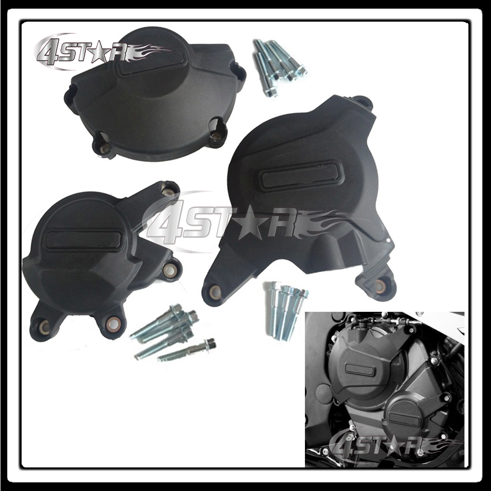 Motorcycle Racing Set Engine Cover Protection Case Kit For CBR600RR CBR 600 RR 2007 2008 2009 2010 2011 2012 2013 2014 2015 2016 kemimoto 2007 2014 cbr 600 rr aluminum radiator grille grills guard cover for honda cbr600rr 2007 2008 2009 2010 11 2012 13 2014