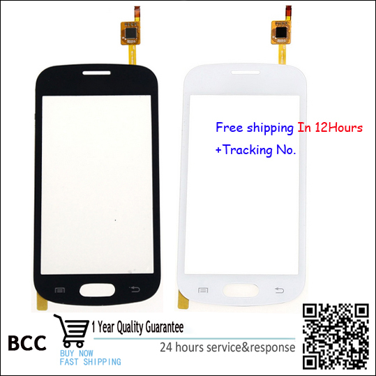 Tested Original Touch Screen glass Digitizer Capacitive for Samsung Galaxy Trend Lite GT-S7390 S7392 Duos Black/White With Logo