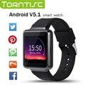 Torntisc K1 Smart Watch 1.54 дюймовый HD Экран IP54 Водонепроницаемый 512 МБ ОПЕРАТИВНОЙ ПАМЯТИ 8 ГБ Пзу с Смарт Уведомление для Andriod OS 5.1 выше
