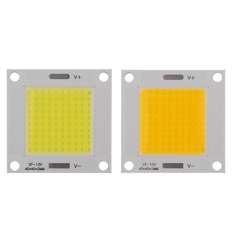 1Pcs DC12-14V 50W COB LED Integrated Chip Light Panel Bulb for DIY Spotlight Warm white for Bulb Lamp Flood light High Quality