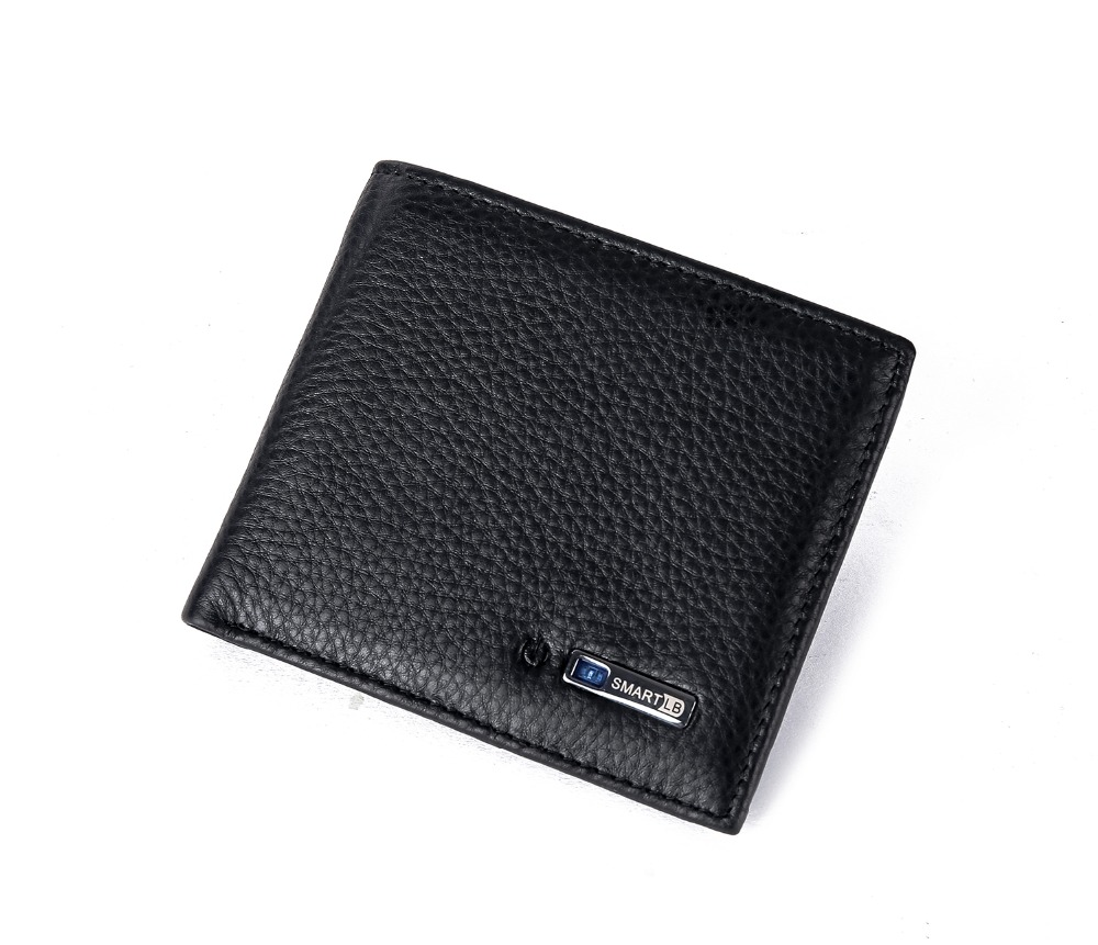 RFID Blocking Wallet for Men Genuine Leather Super Slim Design Excellent Credit Card ID Window j m d genuine leather men s rfid blocking leather trifold wallet credit card holder with secure id window r 8105q