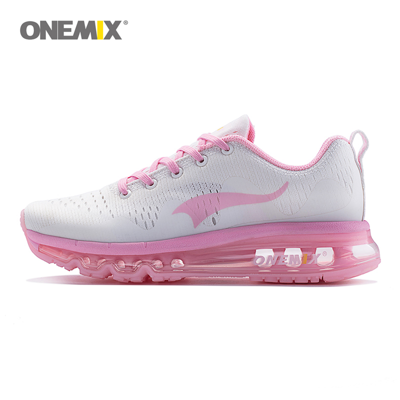 ONEMIX Air Women's Sports Running Shoes cushioning breathable Massage Sneakers for  sport shoes 2017 male athletic outdoor 1223 peak sport men outdoor bas basketball shoes medium cut breathable comfortable revolve tech sneakers athletic training boots