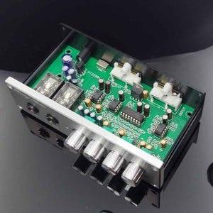 Image 2 - KYYSLB Home Audio op amp NE5532 Preamplifier OF1 TP2399 HD Digital amplifier Karaoke Board Pre level  with Microphone input