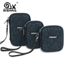 IKSNAIL Benzersiz taşınabilir güç kaynağı kılıfı sert çanta Kutusu 2.5 sabit disk Için USB kablosu Harici Depolama Taşıma SSD HD...