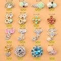 015 Moda Brilhante! 500 pcs Liga prego Rhinestone Bowknot jóias Jóia Da Liga 3D Nail Art Decoração Dicas (ML3499-3599