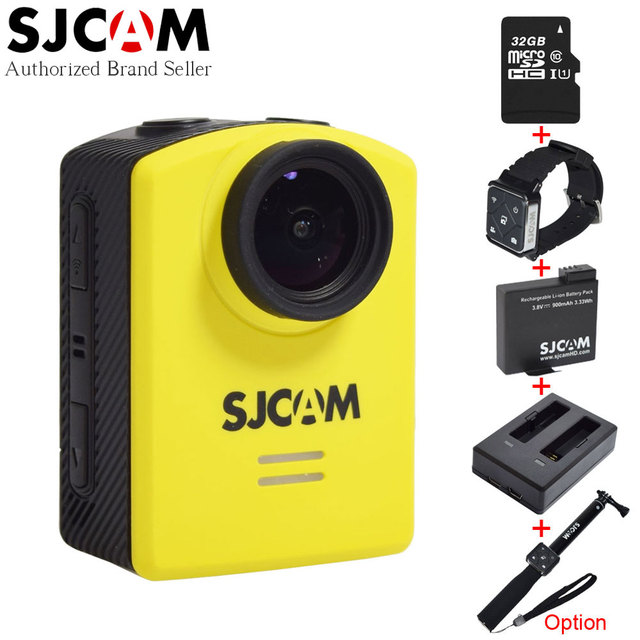Original SJCAM M20 Wifi Action Camera Gyro Waterproof 30M 16MP Sport Camcorder with Battery,Charger, Remote Control Watch Option